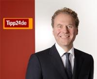 Tipp24-Vorstand Dr. Hans Cornehl