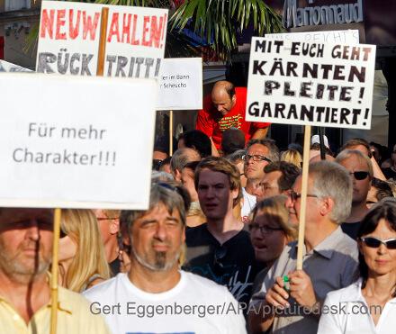 Kärnten-Pleite: Landes-Beamte vor Jobverlust? Pensionskürzungen?